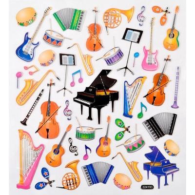 Vienna World Sticker Musikreicher