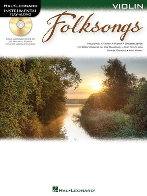 Folksongs violin Play-along /  / Hal Leonard