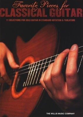 Favorite Pieces For Classical Guitar /  / Willis Music
