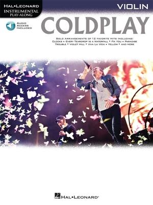 Violin Play-Along / Coldplay Violon  / Coldplay / Hal Leonard