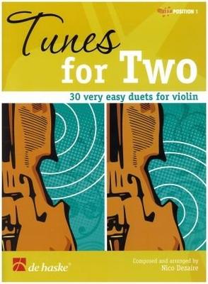 Tunes for Two : 30 very easy duets / Nico Dezaire / De Haske