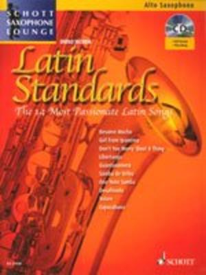Latin Standards ASax/Pno + CD / Schott / Schott