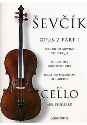 Schule der Bogentechnik Opus 2 Part 1 CelloSchule der Bogentechnik – cole du mécanisme de l'archet Violoncelle / Otakar Sevcik / Bosworth