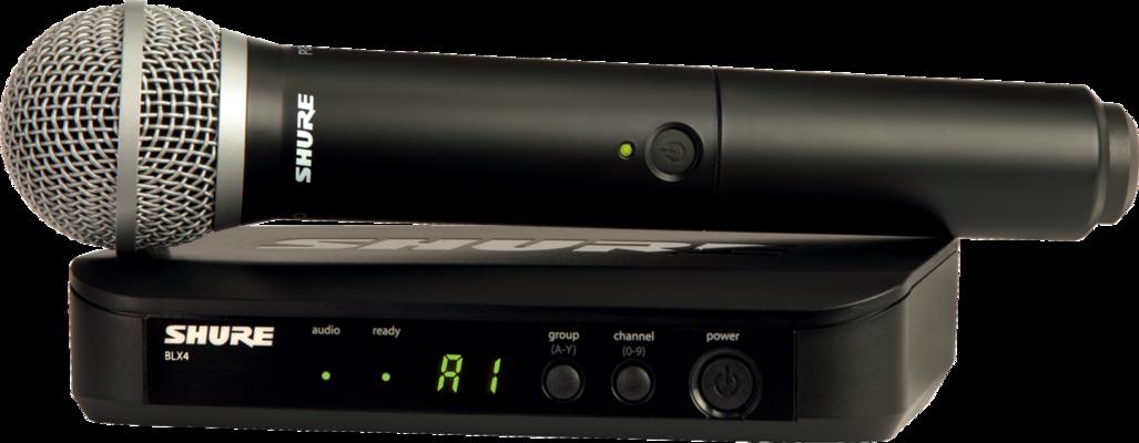 Shure BLX24E/PG58-M17 PG Wireless Analog, PG58,