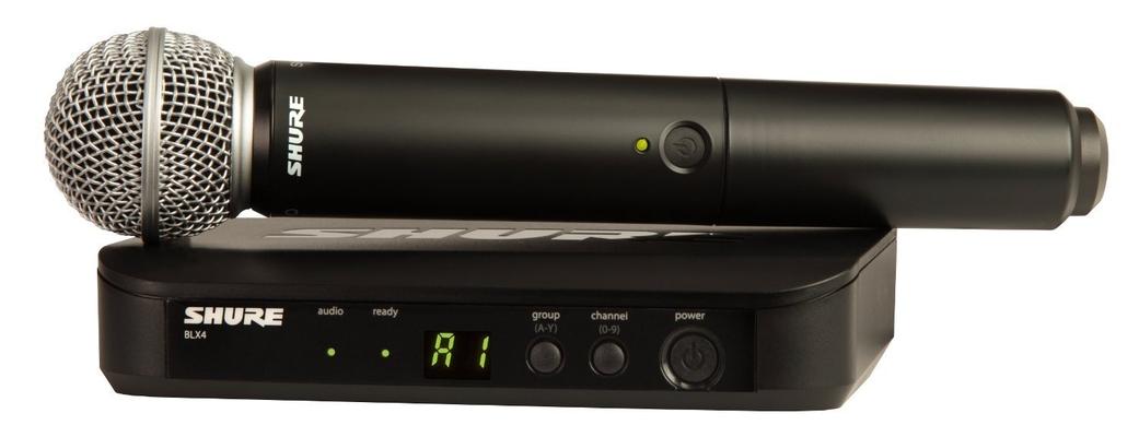 Shure BLX24E/SM58-M17 SM Wireless Analog, SM58