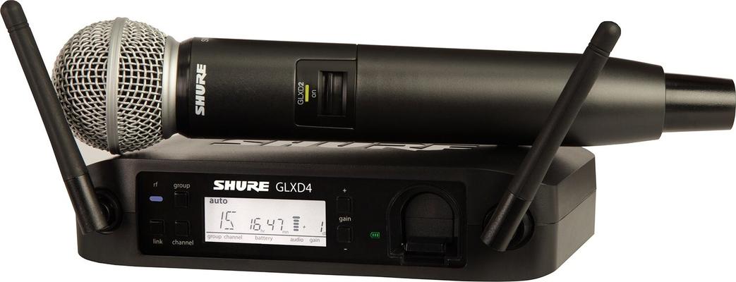 Shure GLXD24E/SM58-Z2 SM Wireless Digital SM58