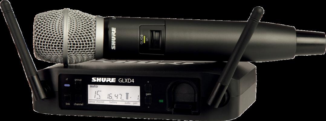 Shure GLXD24E/SM86-Z2 SM Wireless Digital, SM86