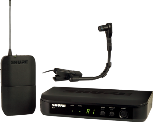 Shure BLX14E/B98-M17 BETA Wireless Analog, Beta98h/c