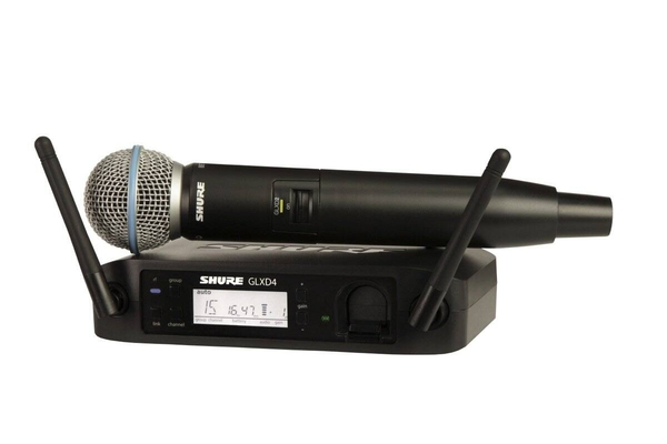 Shure GLXD24E/B58-Z2 BETA Wireless Digital Beta58