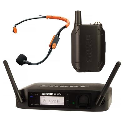 Shure GLXD14E/SM31-Z2  Wireless Digital, taschensender, ohne miks SM31