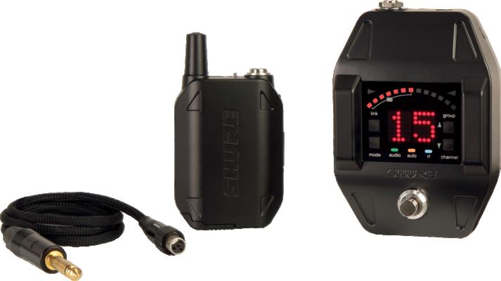 Shure GLXD16E-Z2 BETA Wireless Digital, Guitar Pedal