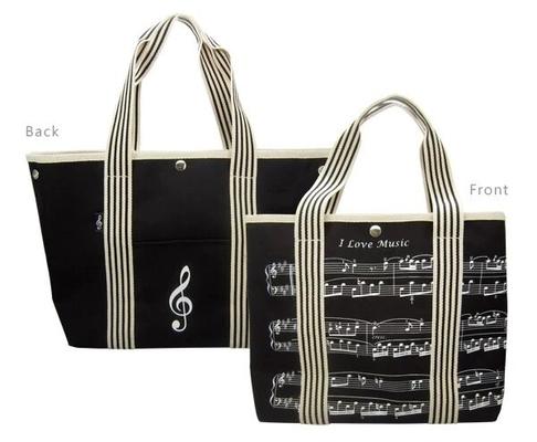 Music Sales Ltd Sac à Main Notes de Musique