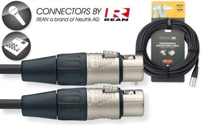 Stagg NMC10R XLR Femelle / XLR Mâle 10m