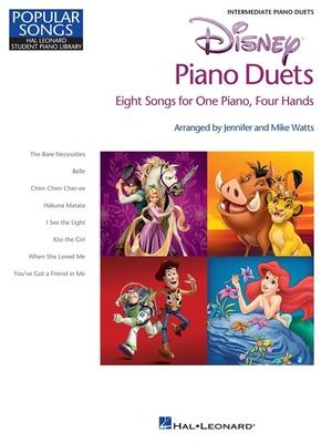 Disney Piano Duets – 8 morceaux pour un piano – 4 mains /  / Hal Leonard