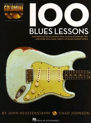 100 Blues Lessons avec 2 CDs TAB /  / Hal Leonard