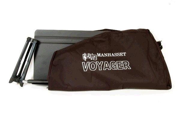 Manhasset 1800 Sac de transport en nylon pour Voyager 52, noir (MAN-5201/MAN-5206)