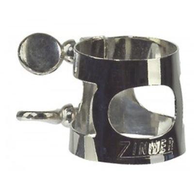 Gewa 736958 Ligature standard pour saxophone soprano à 2 vis nickelé