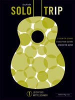 Solo Trip Vol 1, Etüden für Gitarre (leicht bis mittel) /  / Hug