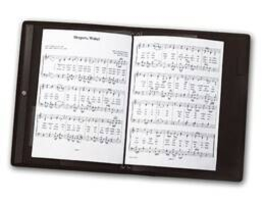Music Sales Mapac: Choir Folder (Black)