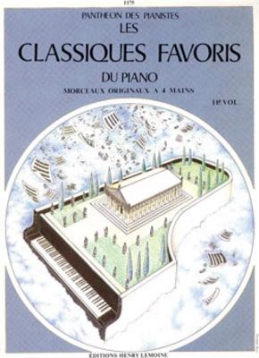 Les Classiques Favoris vol. 11 piano 4 mains /  / Henry Lemoine