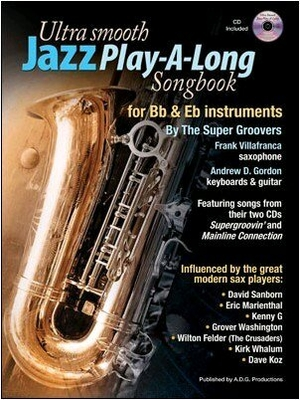 Ultra Smooth Jazz Play-A-Long Songbook  /  / Music Sales