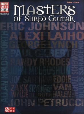 Masters of Shred Guitar /  / Hal Leonard