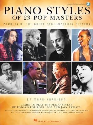 Piano Styles of 23 Pop Masters /  / Hal Leonard