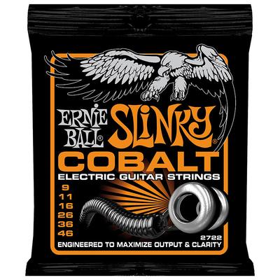 Ernie Ball 2722 Cobalt .009-.046 Hybrid Slinky