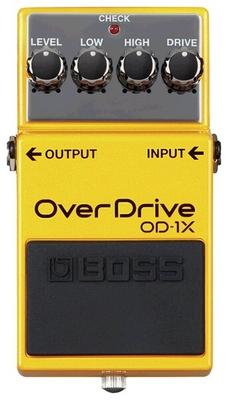 Boss OD-1X Overdrive Guitar Effect