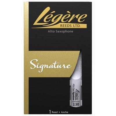 Légère LEG SX A SIG 2.50 Saxophone alto Signature 2.50, boîte de 1