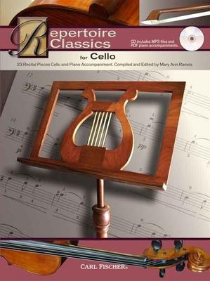 Repertoire classics for cello /  / Carl Fischer