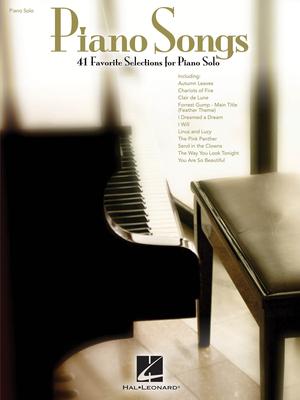 Piano Solo Songbook / Piano Songs 41 Favorite Selections for Piano Solo /  / Hal Leonard