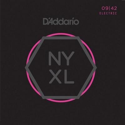 D'Addario NYXL0942 NEW YORK XL Nickel Round Wound .009-.042 Super Light