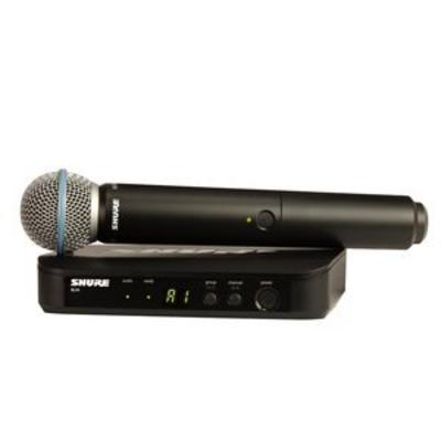 Shure BLX24RE/B58-M17 BETA Wireless Analog, BETA58, 19»