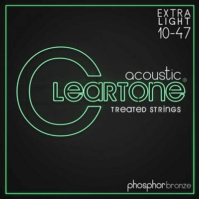 Cleartone Ultra Light 10-47 Cleartone acoustique Phosphor Bronze