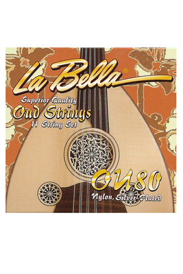 La Bella La Bella »Oud» Set 11-String Nylon/Silver Plated