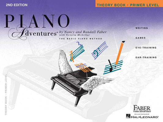Faber Piano Adventures / Piano Adventures Primer Level – Theory Book 2nd Edition / Nancy Faber / Randall Faber / Faber Music