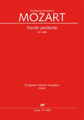 Mozart Wolfgang Amadeus Davide penitente KV 469 Studienpartitur de poche /  / Carus