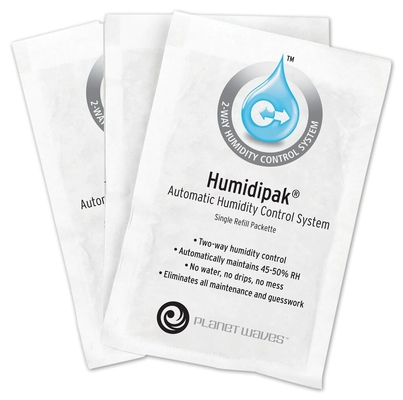 Planet Waves PW-HPRP-03 Humidipak, Standard Re-fill Pack of 3 Bags for PW-HPK-01