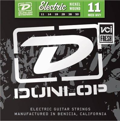 Dunlop 11 Nickel Wound .011-.050 Medium Heavy