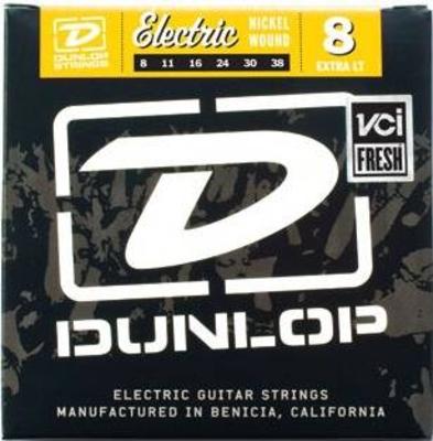 Dunlop 8 Nickel Wound .008-.038 Extra Light