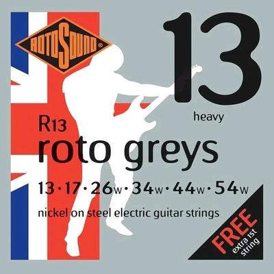 Rotosound R13 Roto Greys Nickel Plated .013-.054w (G.026w) R/W Heavy