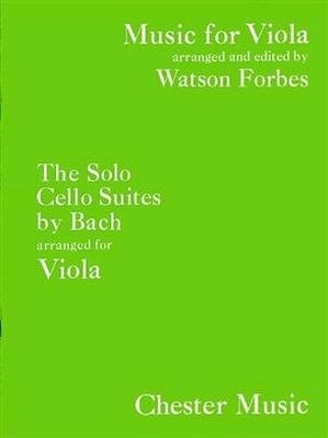 6 suites pour violoncelle BWV 1007-1012arrangées pour violon alto / Bach Jean Sébastien / Chester Music