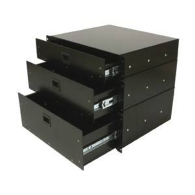 Power Acoustics R-CASE 4 Tiroir rack 19»