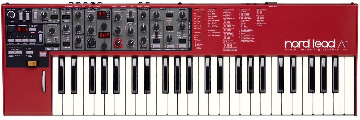 Clavia Nord Lead A1 49 touches