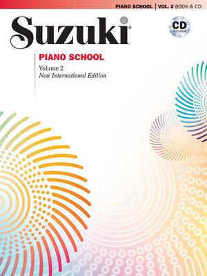 Suzuki Method International / Suzuki Piano School 2 + CD     Klavier Buch + CD Suzuki Method International / Suzuki Shinichi / Summy-Birchard
