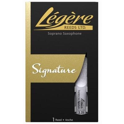 Légère LEG SX S SIG 2.25 Légère, Sax soprano »Signature Reed» 2.25, boîte de 1