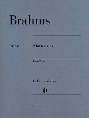 Piano Trios / Brahms Johannes / Henle Verlag