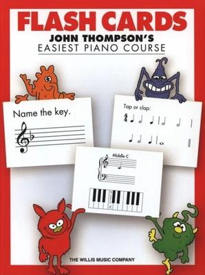 John Thompson's Easiest Piano Course: Flash Cards / Thompson, John (Arranger) / Willis Music