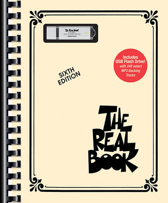 The Real Book Play-Along / The Real Book – Volume I (6th ed.) Book/USB Flash Drive Pack   Hal Leonard C Instruments Recueil + Clé USB The Real Book Play-Along /  / Hal Leonard